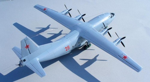 Antonov AN-12BK 1/72 Roden