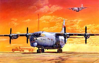 An-12BK 1/72 Roden