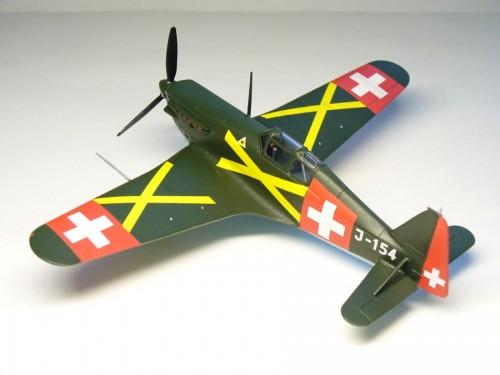 Morane Saulnier D-3801 1/72 RS model