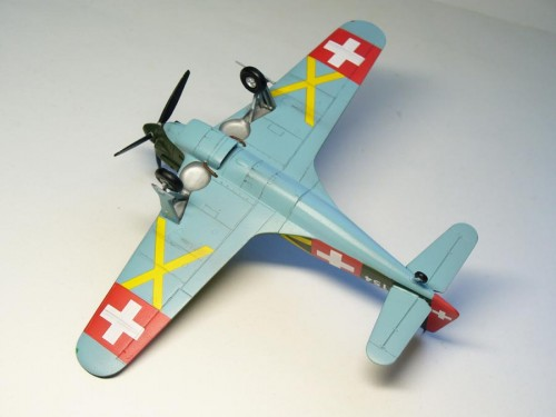 Morane Saulnier D-3801 1/72 RS model