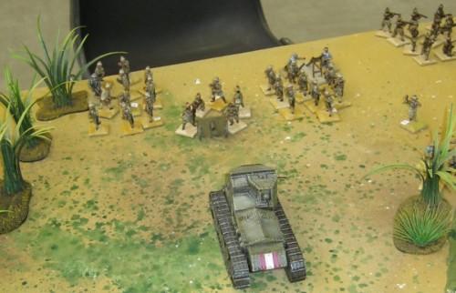 Britové jim jdou z Indie do boku. Dobře rozehraný Skirmish ve velmi populární dvacetosmičce.