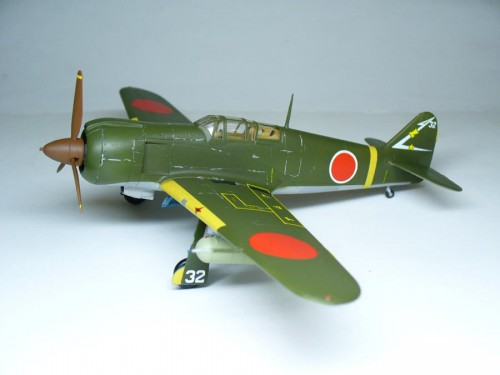 "Ki-100-I ""High Back"" 1/72 RS models"