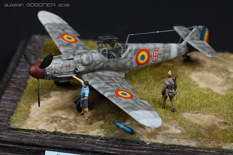 Bf 109 G-6 1/72 AZ model