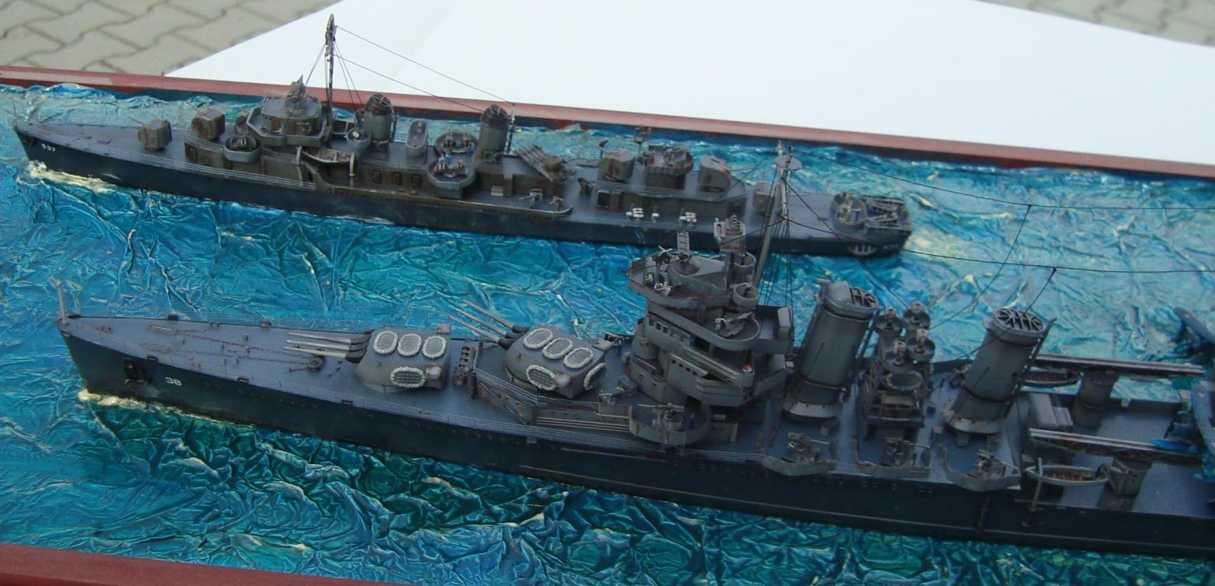 USS San Francisco a USS The Sullivans Pacific 1944