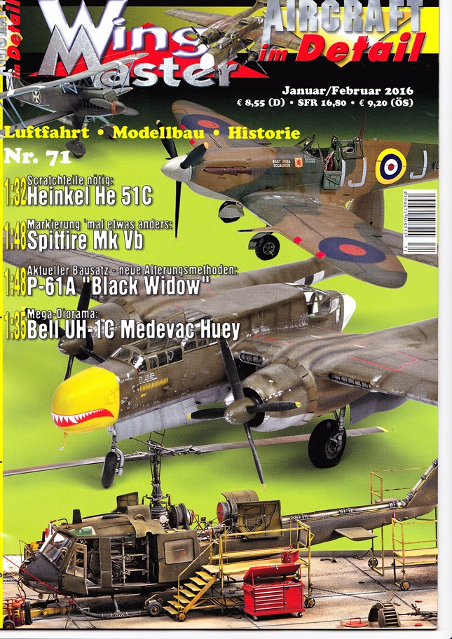 Wing Master 71 – německá verze