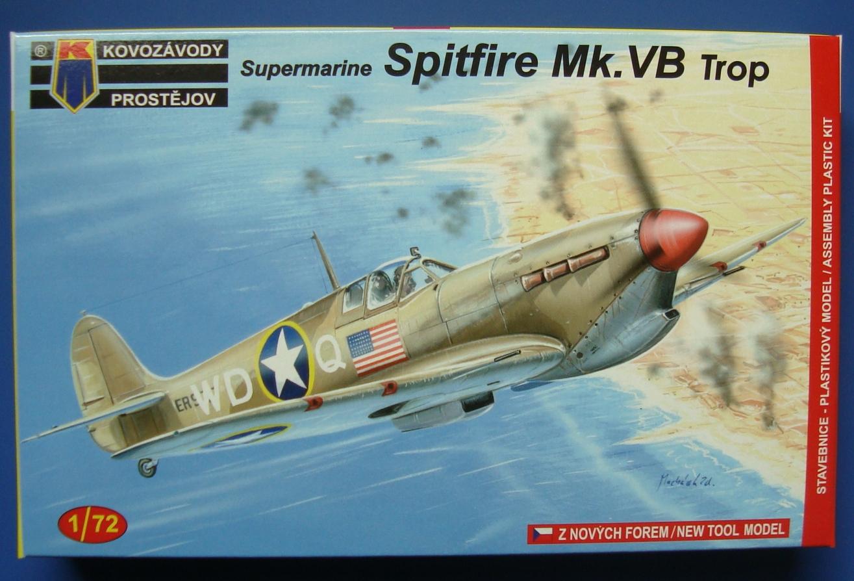 Supermarine Spitfire Mk.VB Tropical     KP 1/72