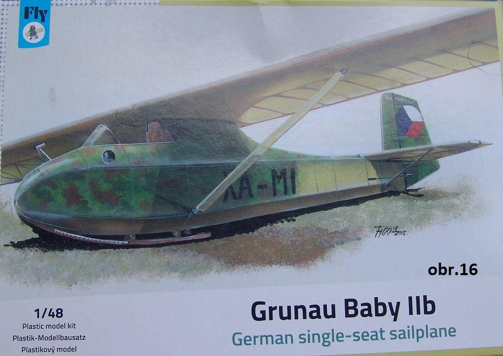 Grunau Baby II 1/48 Fly
