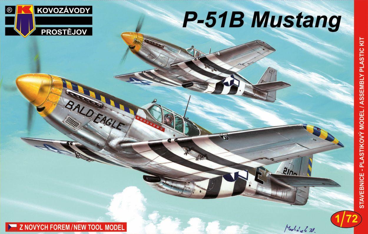 P-51B/C Mustang 1/72 Kovozávody Prostějov