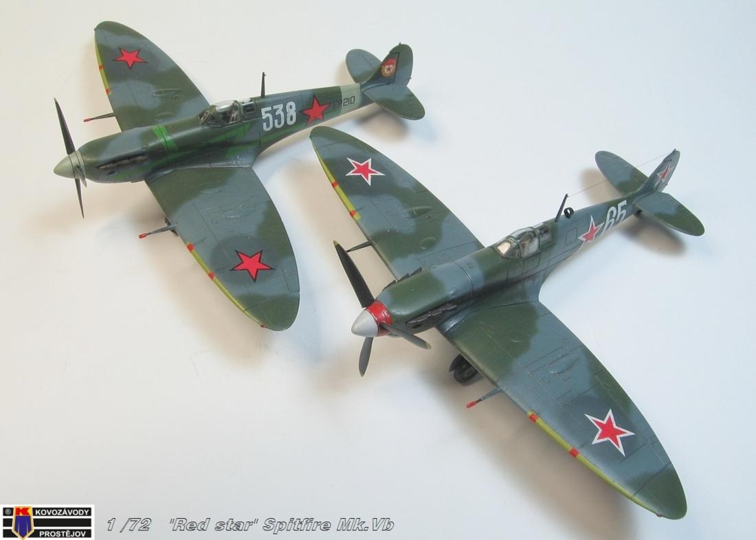 "Supermarine Spitfire Mk. Vb ""Red Stars"" KP"