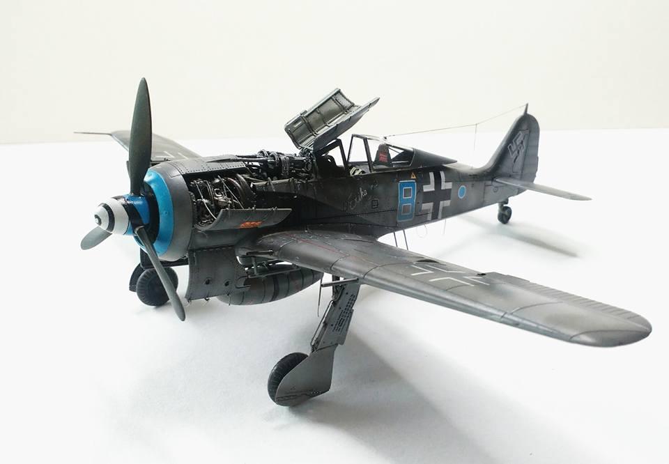 FOCKE WULF FW 190A 1/72, EDUARD, Jan Šimon