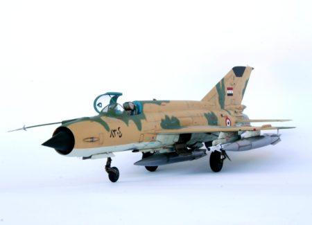 MIG-21MF, EDUARD 1/48, Yoav Efrati