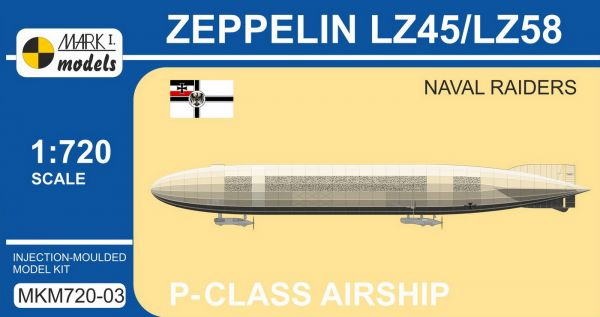 "ZEPPELIN LZ45/58 ""NAVAL RAIDERS"" – STAVEBNÍ RECENZE"