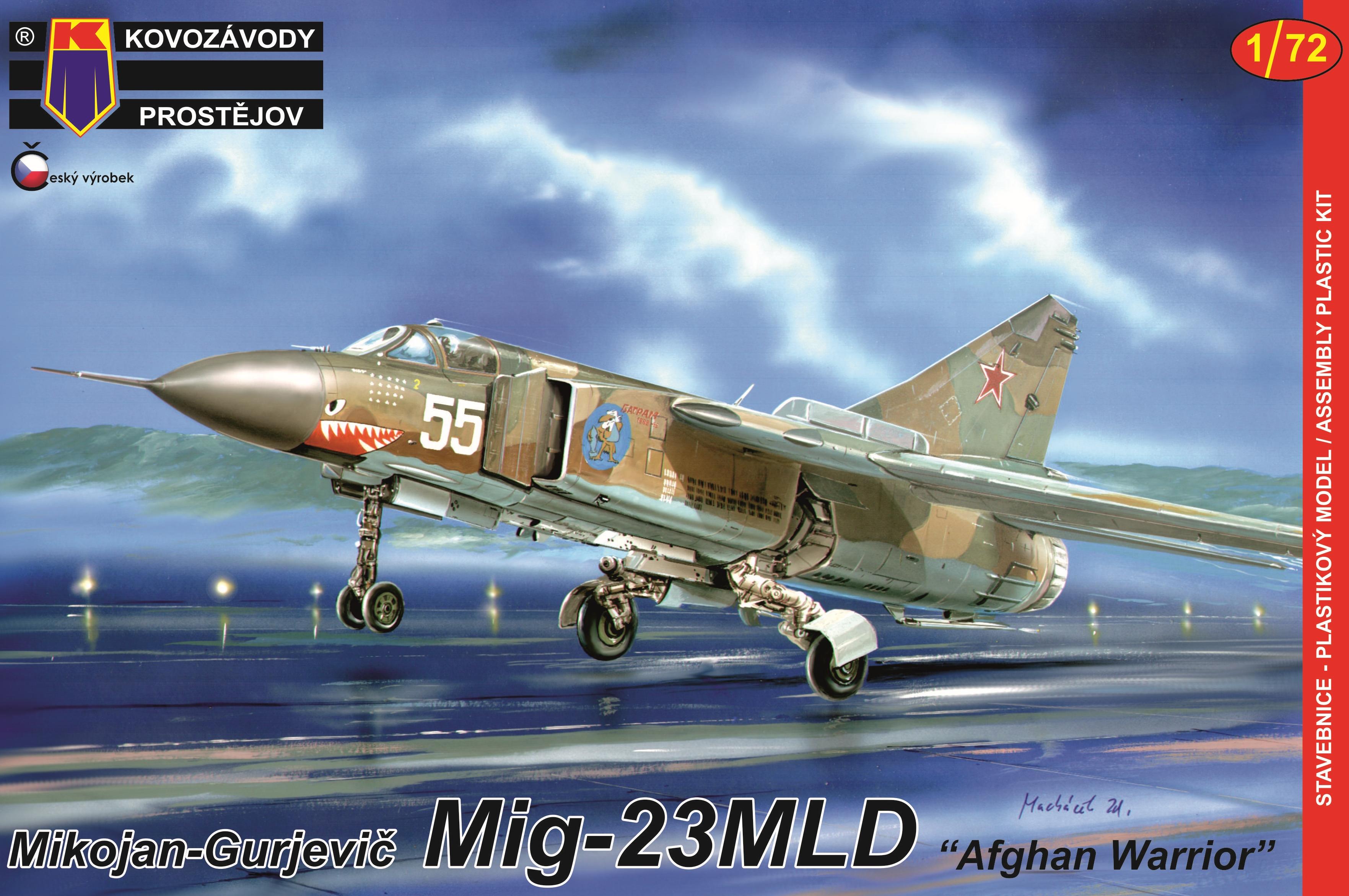 """MIG-23MLD """"AFGHAN WARRIOR"""" 1/72, KP"""