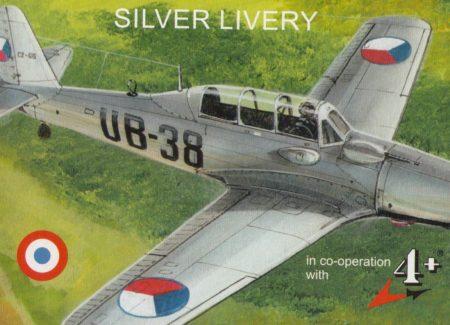 AVIA C-2/ARADO AR 96B, 1/144, MKM 14460, MARK I, NÁHLED DO KRABIČKY