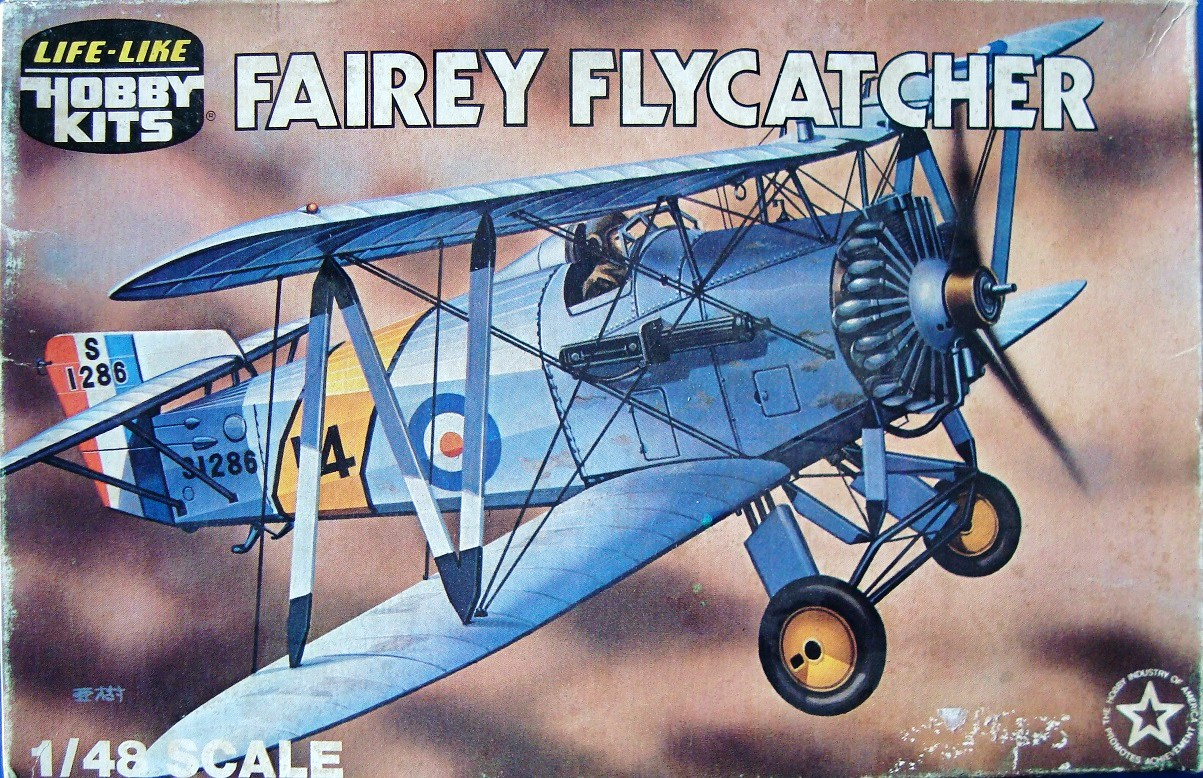 FAIREY FLYCATCHER, 1/48, LIFE LIKE