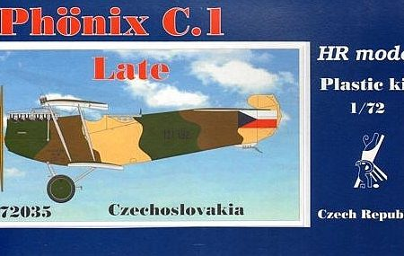 PHOENIX C. 1 LATE, HR MODEL 1/72, POHLED DO KRABIČKY