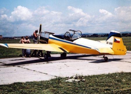 Zlin Z-226A AKROBAT, 1/72, KP, TESTOVACÍ STAVBA