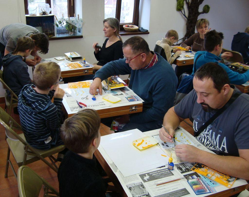Soustředění bylo znát na malých i velkých účastnících akce