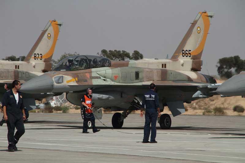 Návštěva IPMS Israel na základně IAF/IDF