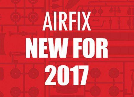 NOVINKY FIRMY AIRFIX NA ROK 2017