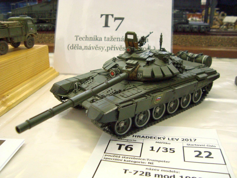 Mezi modely bojové techniky byly velmi povedené kousky