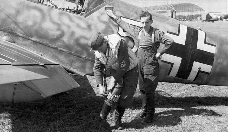 Nordafrika, Me 109 vor Einsatz