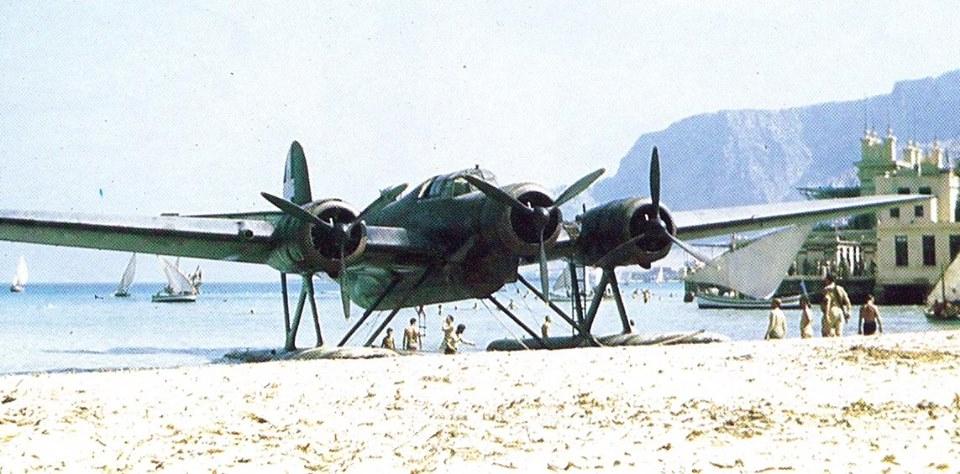 CANT 508 AIRONE, 1/72 ITALERI, SARIO BASSANELLI RIZZI