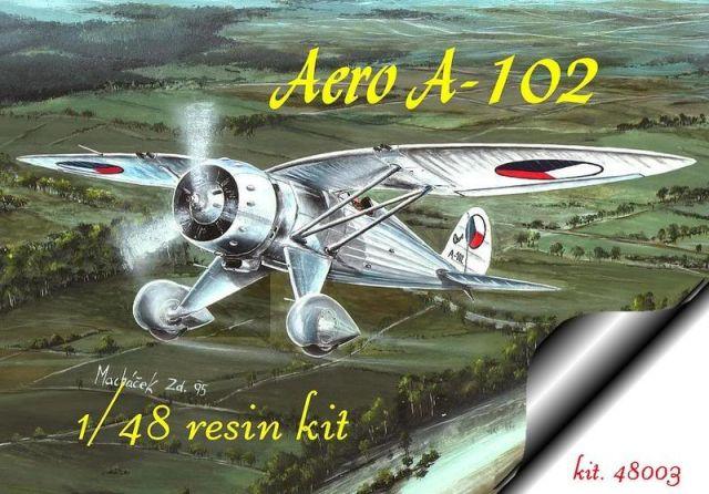 AERO A-102, RS MODELS 1/48, MOJMÍR SKOPALÍK
