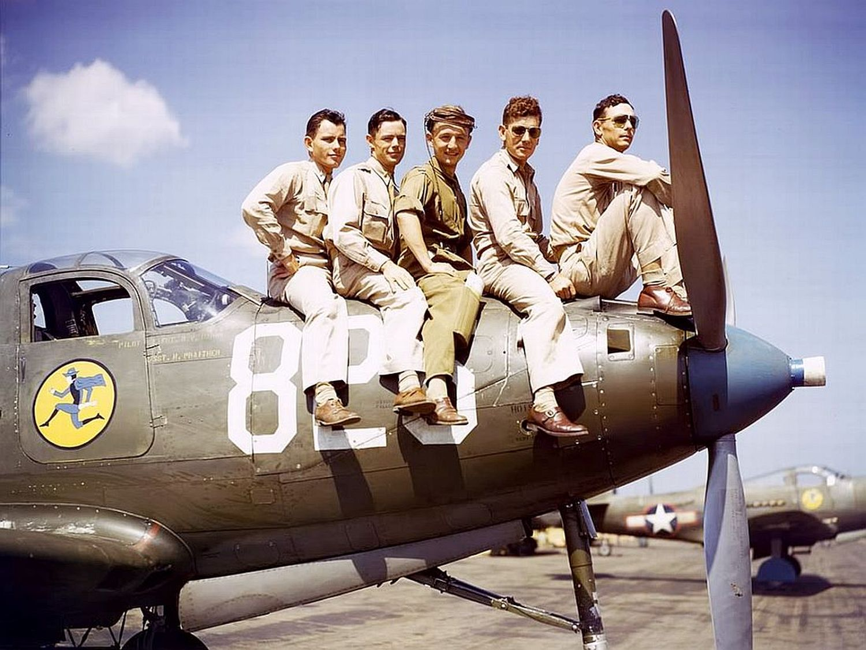 USAF V BARVĚ