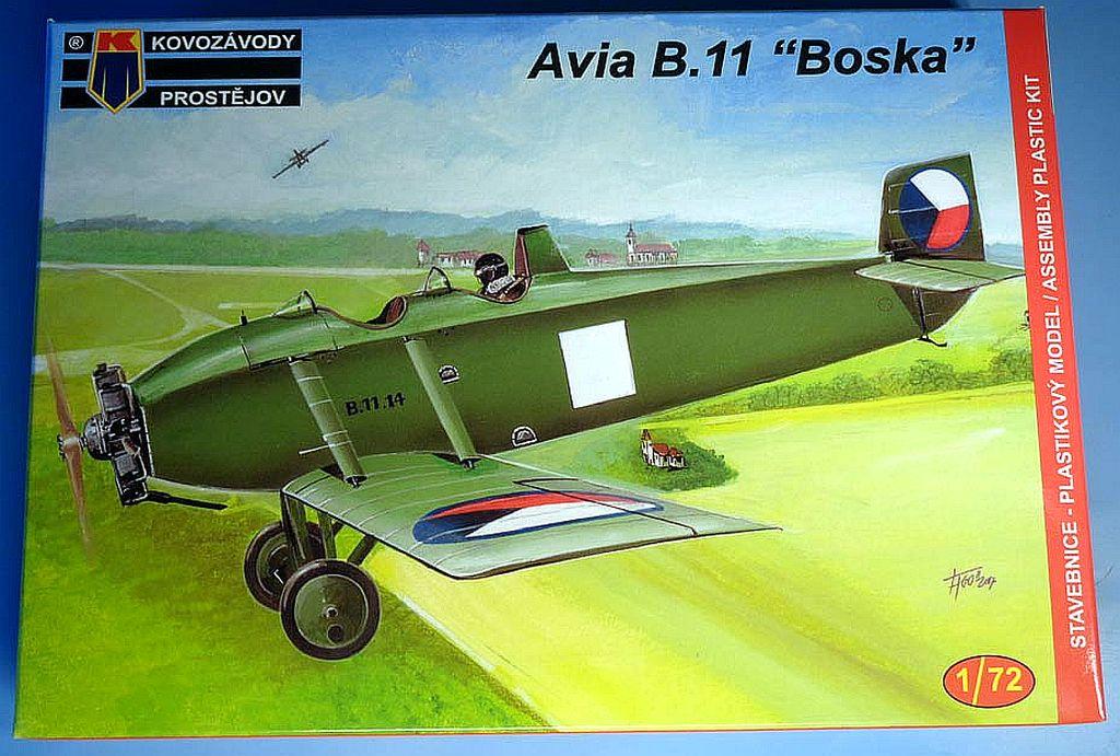 AVIA BH-11 MILITARY, NÁHLED DO KRABIČKY