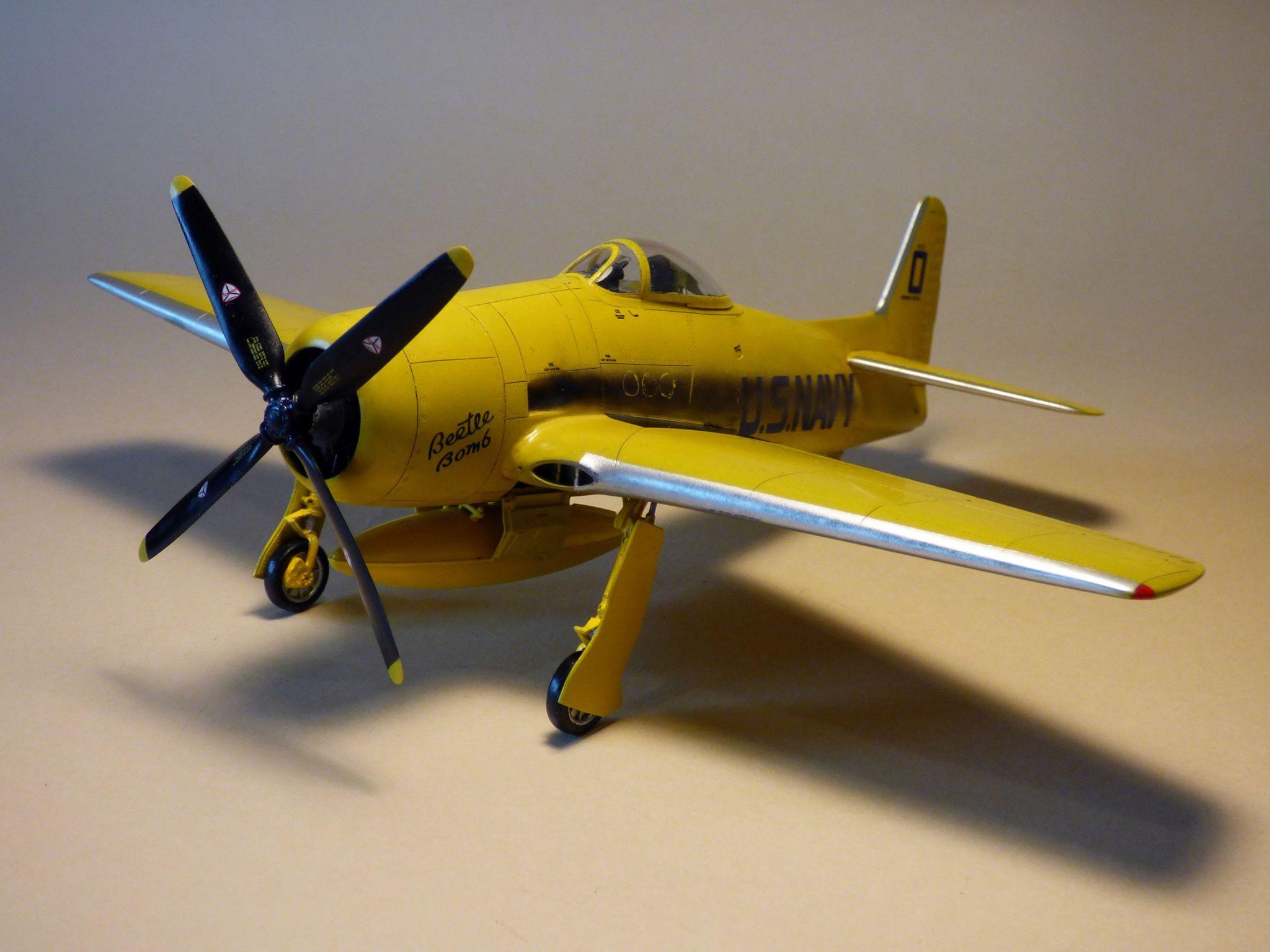 """F8F BEARCAT """"BLUE ANGELS"""", 1/48, LIBOR ŠPŮREK"""