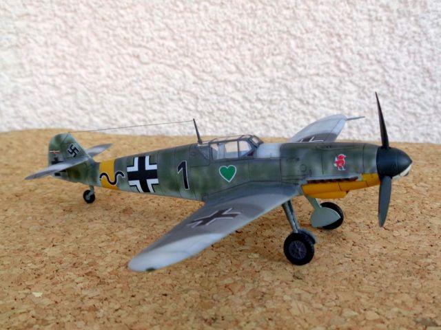 MESSERSCHMITT BF 109F & G-0, AZ MODEL, FILIP TOMČI