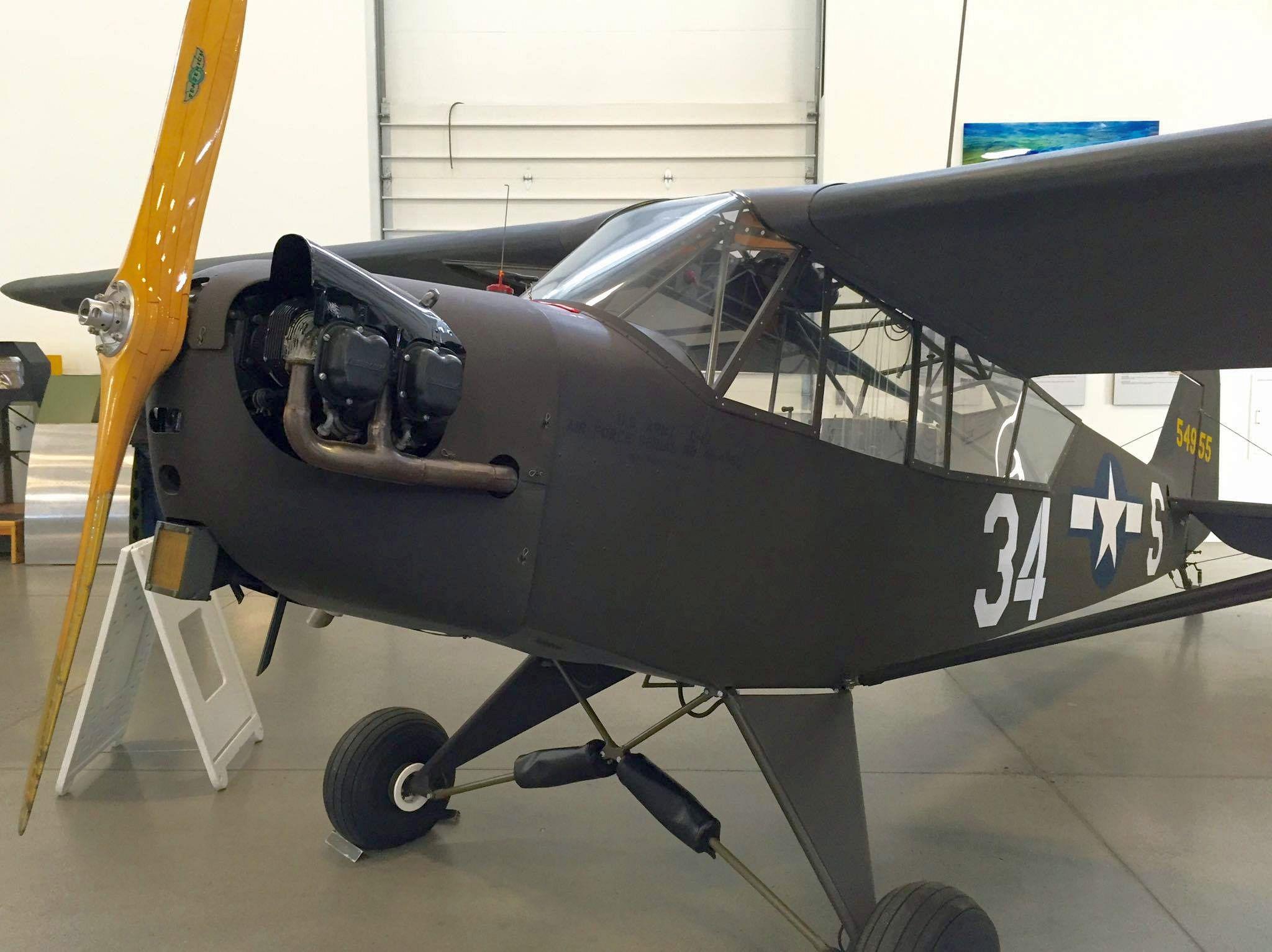 PIPER L-4 WALKAROUND