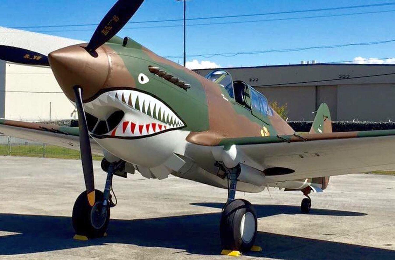 CURTISS P-40B/C WALKAROUND
