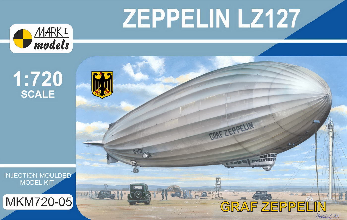 LZ 127 GRAF ZEPPELIN, 1/720, NOVINKA MARK I