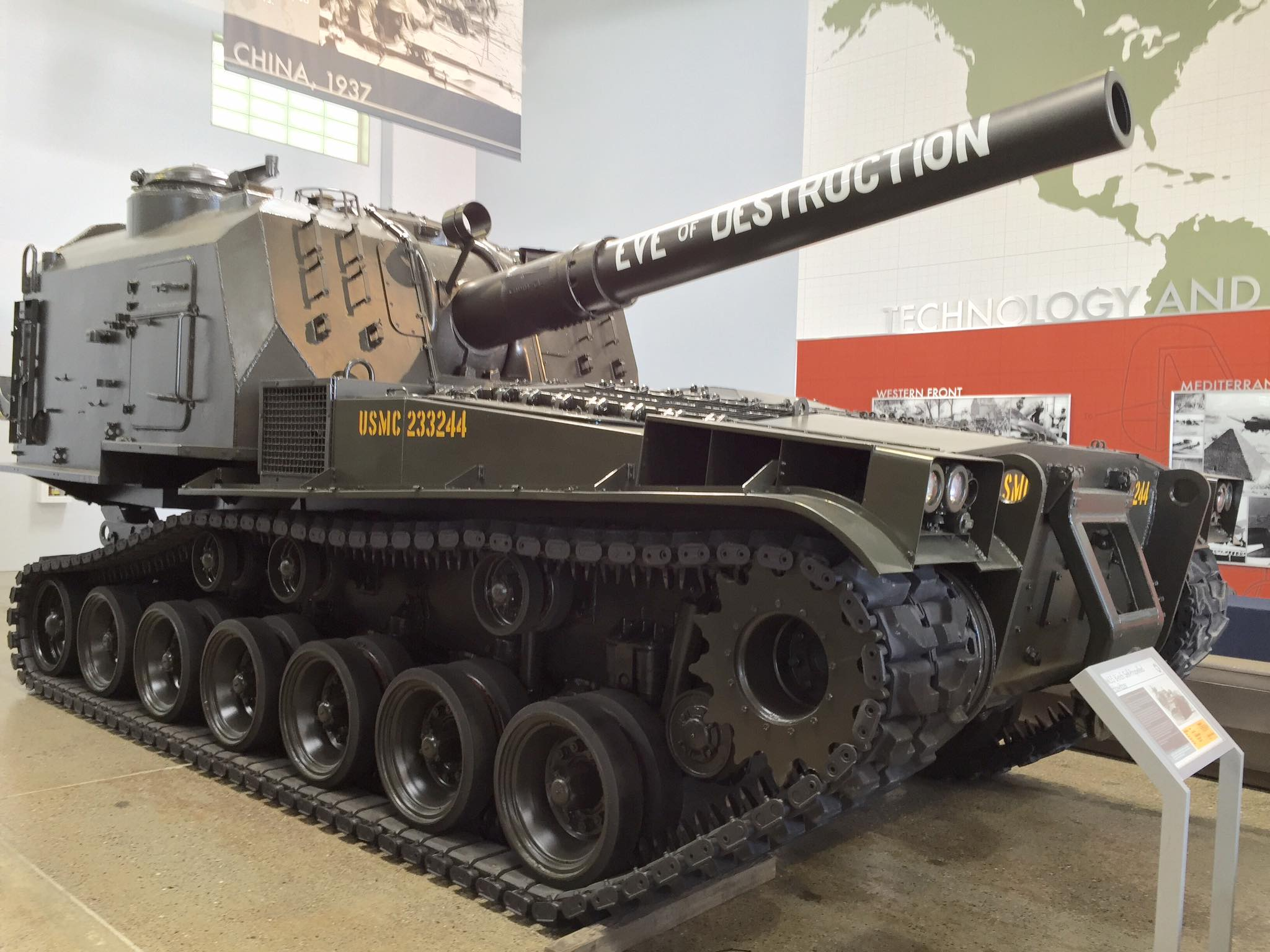 SAMOHYBNÁ HOUFNICE M-55 WALKAROUND