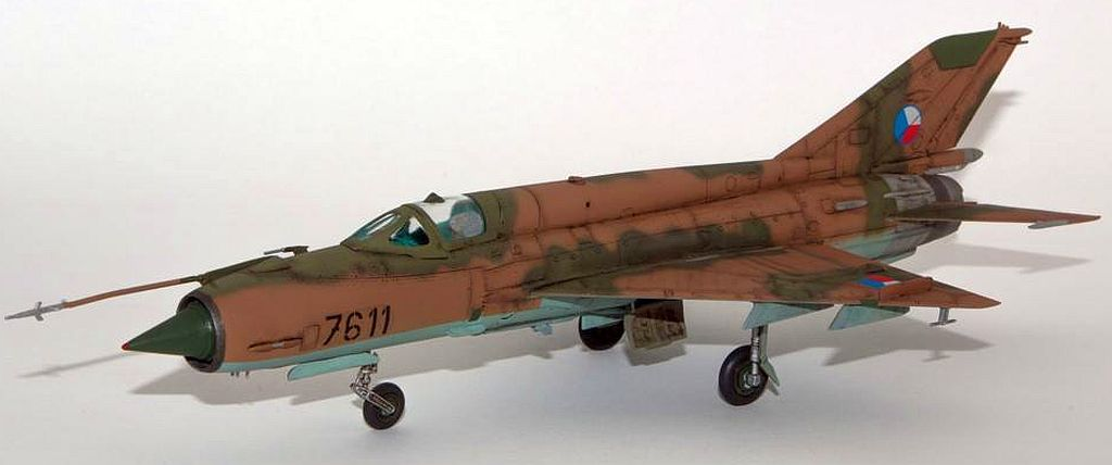 MIG-21MF, 1/72 KP, LACO NAGY
