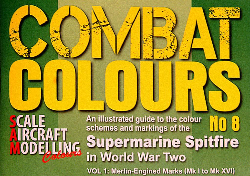 COMBAT COLOURS 8 – SPITFIRE MERLIN ENGINED IN WWII, NÁHLED NA PUBLIKACI