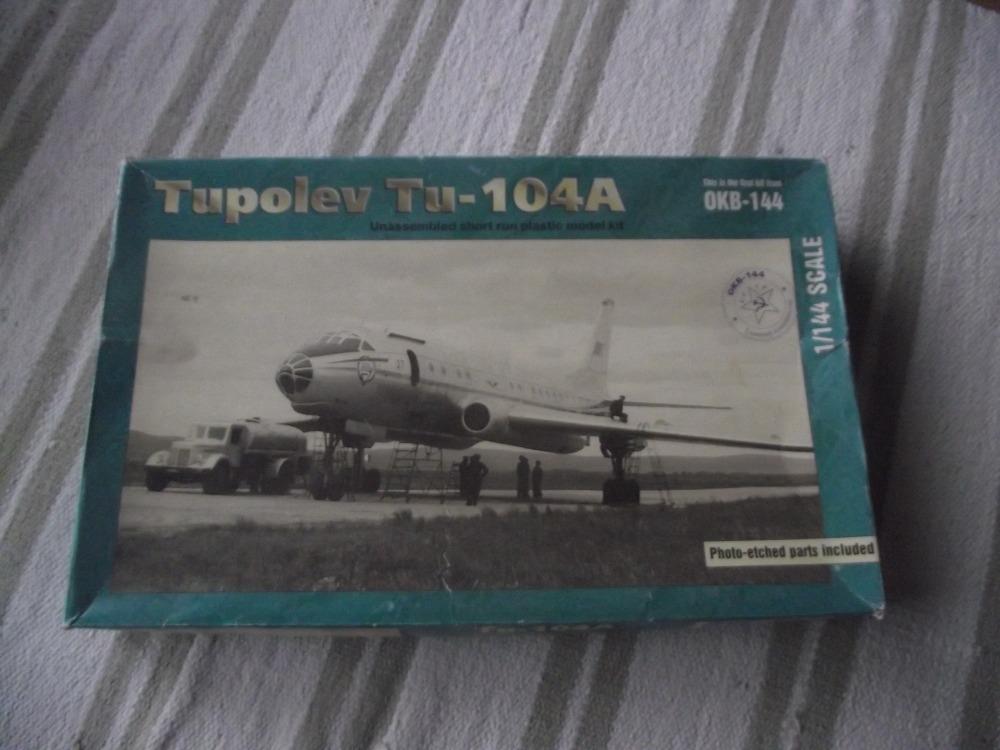 TUPOLEV TU-104A, 1/144 OKB144, JIŘÍ FIALA