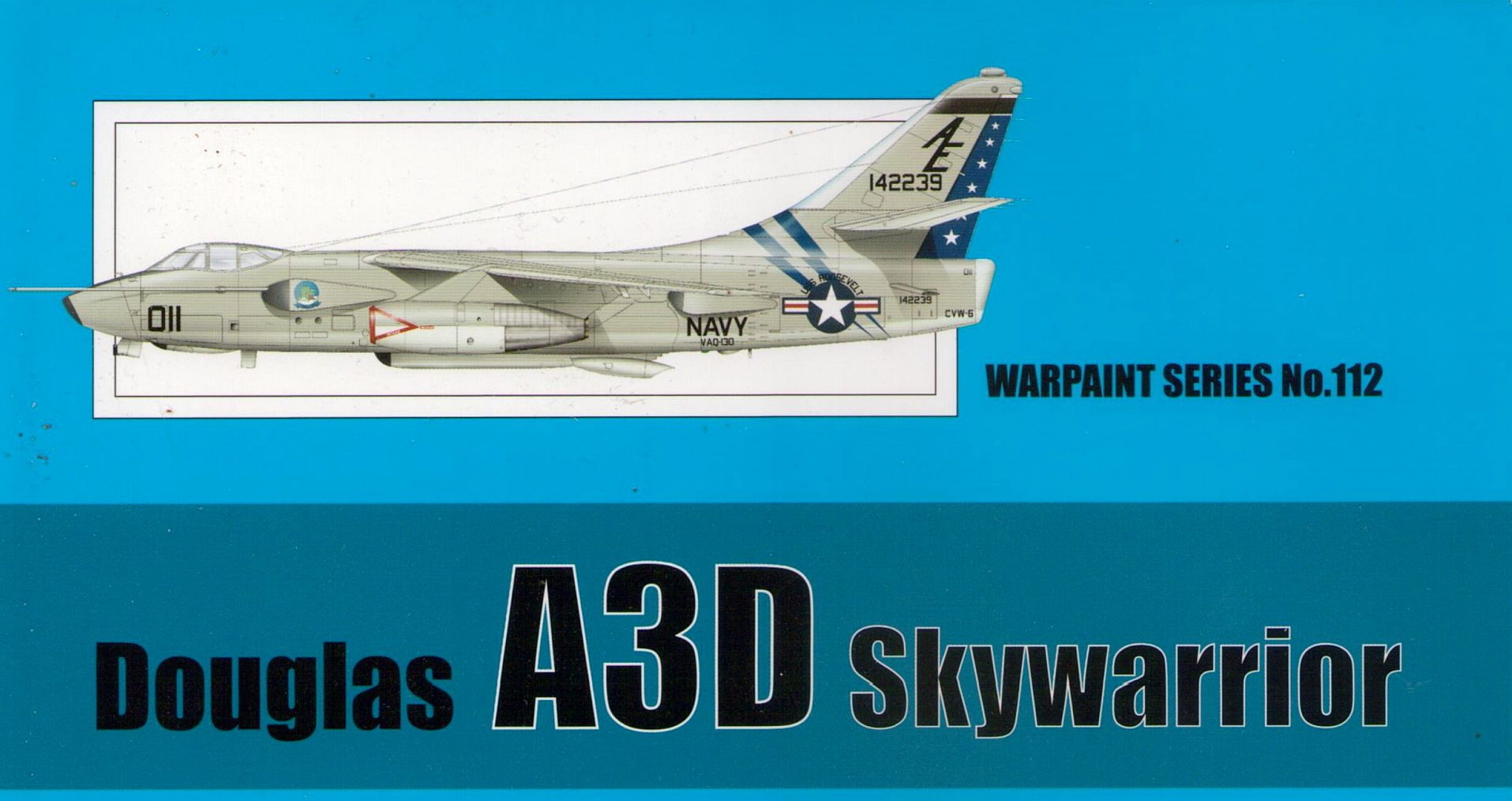 DOUGLAS A-3D SKYWARRIOR, WARPAINT NO. 112