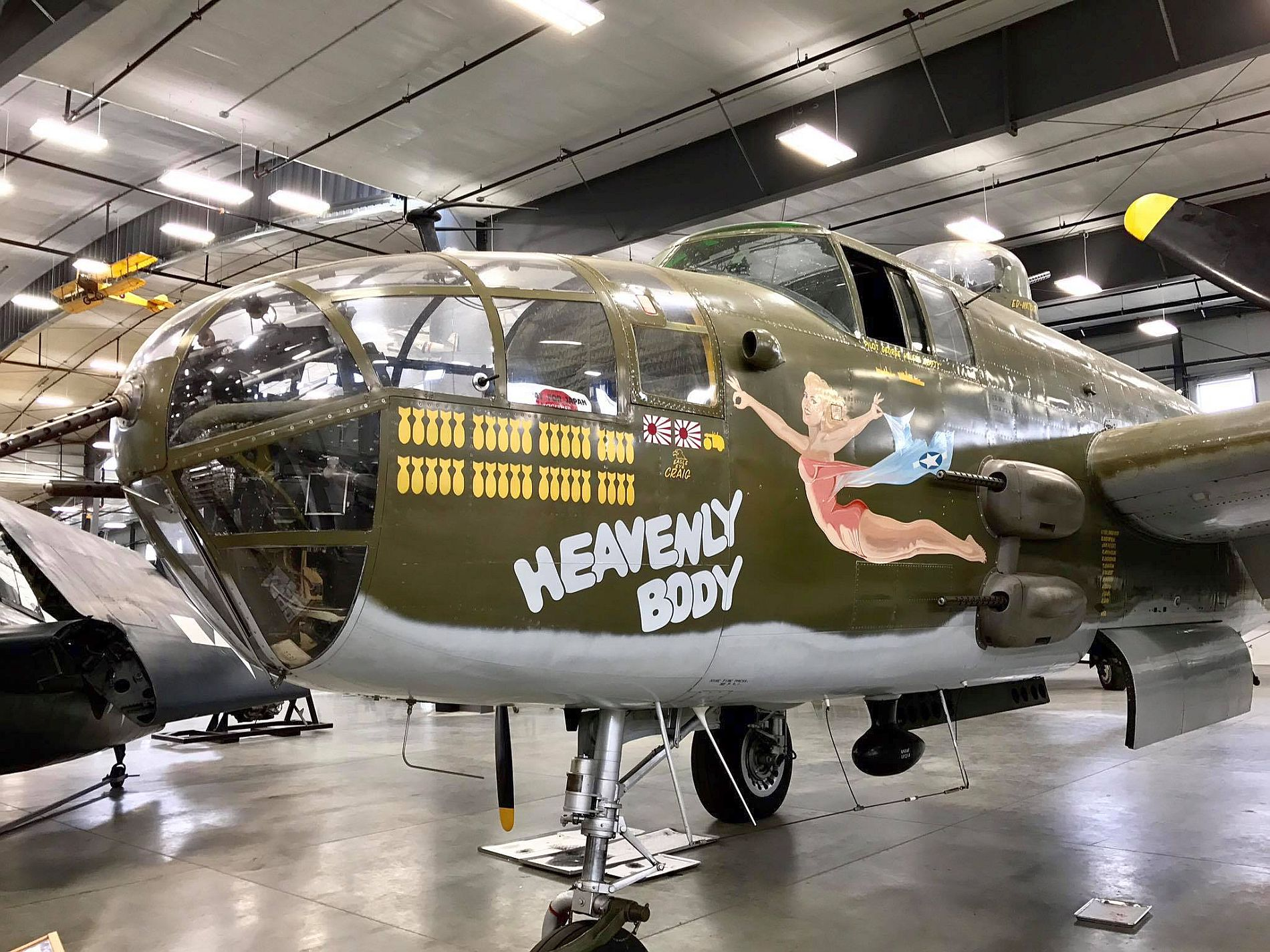 NORTH AMERICAN B-25J MITCHELL WALKAROUND