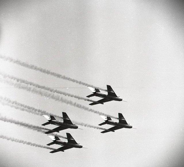 LETECKÝ DEN NA SLIAČI 1964