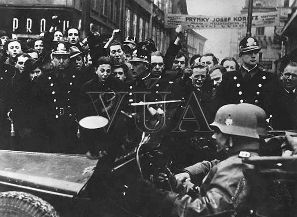 PŘIPOMÍNÁME SI OKUPACI ČECH, MORAVY A SLEZSKA 15. 3. 1939