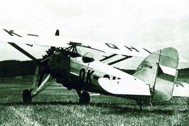 MORANE MS-230 V POVÁLEČNÉM ČESKOSLOVENSKU