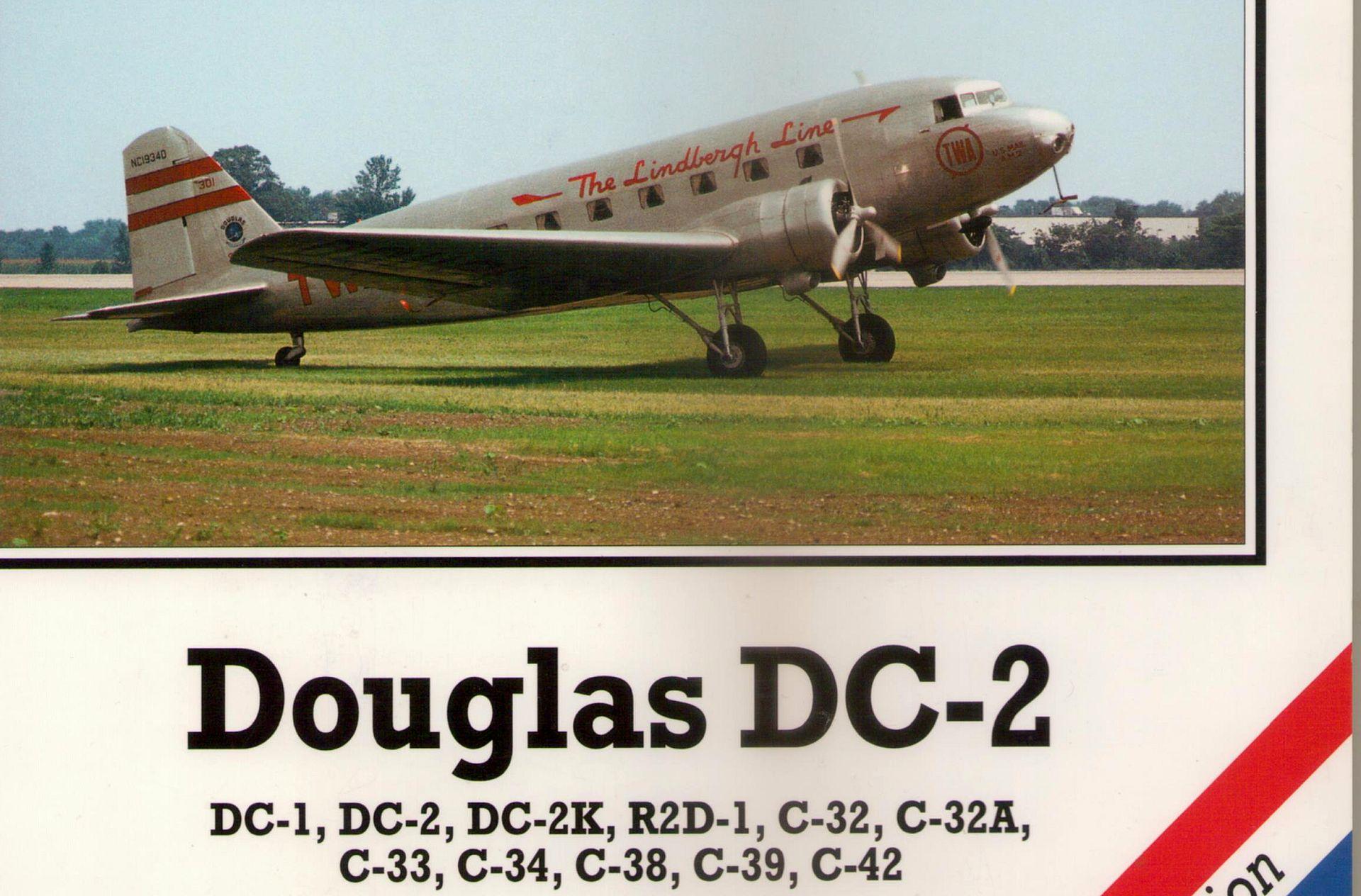 DOUGLAS DC-2, 4+ PUBLICATIONS, NÁHLED NA PUBLIKACI