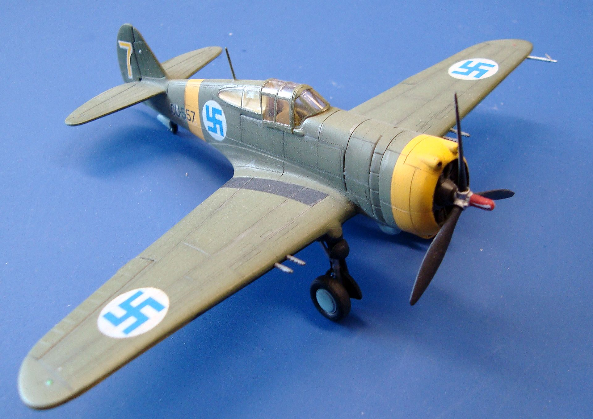 CURTISS H-75A-3, 1/72 AZ MODEL, FILIP TOMČI