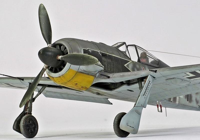 FOCKE WULF FW 190A-3, TAMIYA 1/72, WOLFGANG HENRICH