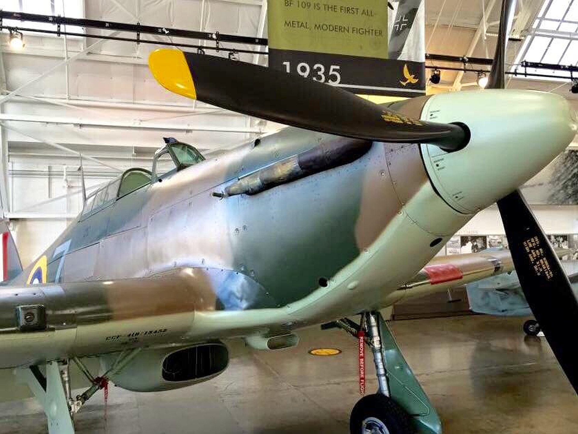 HAWKER HURRICANE MK. XII WALKAROUND