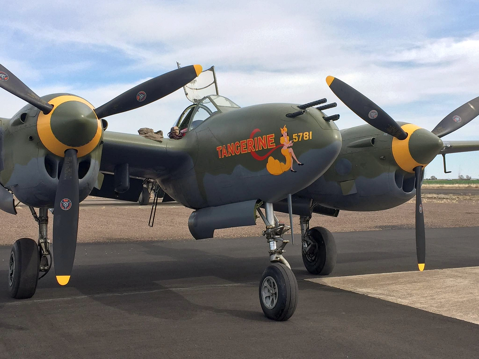 LOCKHEED P-38L LIGHTNING WALKAROUND