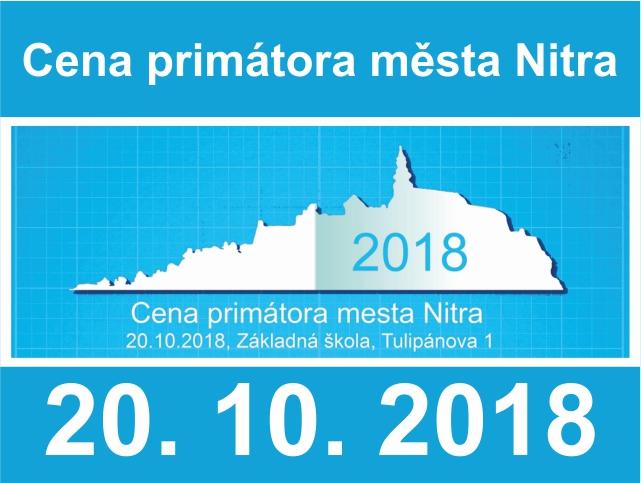 CENA PRIMÁTORA MĚSTA NITRA 2018